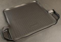Коврик в багажник для Dacia Logan '04-12, полиуретановый (NorPlast) черный