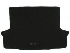 Коврик в багажник для Chevrolet Aveo '03-06 седан, текстильный черный