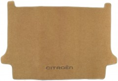 Коврик в багажник для Citroen C4 Grand Picasso '06-13, текстильный бежевый