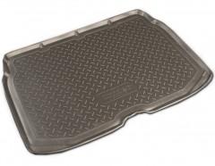 Коврик в багажник для Citroen C3 '10- Picasso, нижний резино/пластиковый (Norplast)