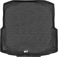 Коврик в багажник для Skoda Octavia A7 '13- седан (с органайзером), резиновый (Lada Locker)