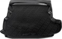 Коврик в багажник для Mitsubishi Outlander XL '07-12 (c сабвуфером), резино/пластиковый (Lada Locker)