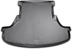 Коврик в багажник для Chrysler 300 C '04-10, седан, полиуретановый (Novline / Element) черный