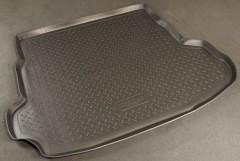 Коврик в багажник для Mazda 6 '08-12 хетчбэк, полиуретановый (NorPlast) черный