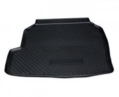Коврик в багажник для Renault Latitude '10- (2.5L), полиуретановый (NorPlast) черный