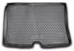 Коврик в багажник для Citroen Nemo '08-, полиуретановый (Novline / Element) черный