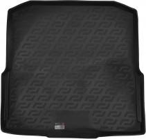 Коврик в багажник для Skoda Octavia A7 '13- универсал, резино/пластиковый (Lada Locker)