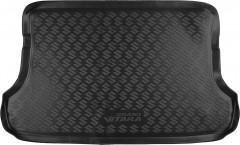 Коврик в багажник для Suzuki Grand Vitara '06- (5 дверей), полиуретановый черный (Novline / Element)