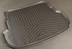 Коврик в багажник для Mazda 6 '02-08 универсал, полиуретановый (NorPlast) черный