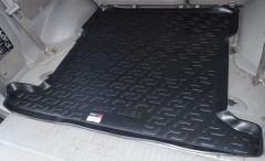 Коврик в багажник для Toyota LC 100 '98-07, резино/пластиковый (Lada Locker)