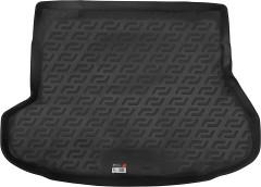 Коврик в багажник для Kia Ceed '12- универсал, резино/пластиковый (Lada Locker)