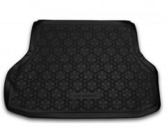 Коврик в багажник для Daewoo Gentra '13- седан, полиуретановый (Novline / Element) черный