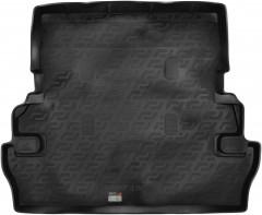 Коврик в багажник для Toyota Land Cruiser 200 '07- (7 мест), резино/пластиковый (Lada Locker)