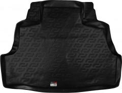 Коврик в багажник для Nissan Almera '00-06, резиновый (Lada Locker)