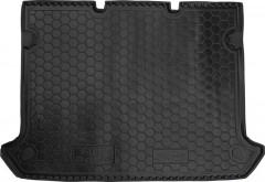Коврик в багажник для Fiat Doblo Panorama '01-09, 5 мест, короткая база без сетки, резиновый (AVTO-Gumm)