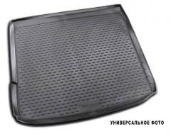 Коврик в багажник для Renault Logan '13- MCV (универсал), полиуретановый черный (Novline)