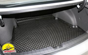 Коврик в багажник для Hyundai i40 '12- седан, полиуретановый (Novline / Element) черный