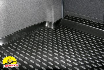 Коврик в багажник для Hyundai i40 '12- седан, полиуретановый (Novline) черный