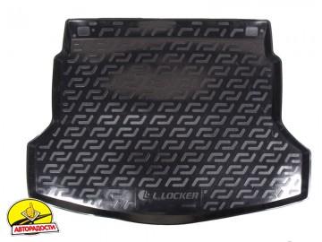 Коврик в багажник для Honda CR-V '12-17, резино/пластиковый (Lada Locker)