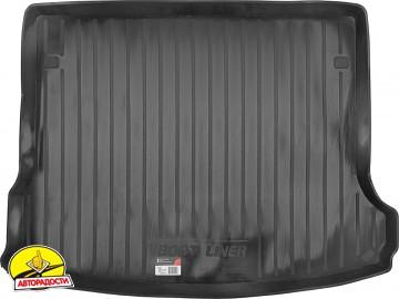 Коврик в багажник для Lada (Ваз) Largus 12- (5 мест), резино/пластиковый (Lada Locker)