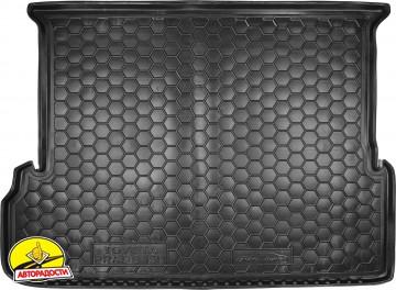 Коврик в багажник для Toyota LC Prado 150 '10- (7 мест, длинный) резиновый (AVTO-Gumm)