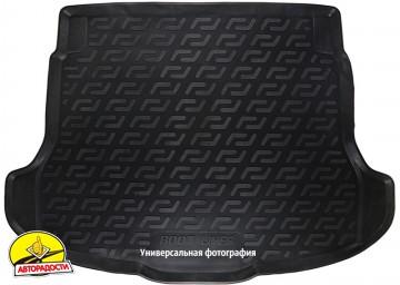 Коврик в багажник для Hyundai i40 '12- универсал резино/пластиковый (L.Locker)