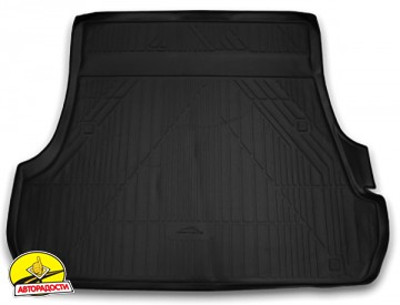 Коврик в багажник для Lexus LX 570 '08- (5 мест), полиуретановый (Novline) carlex00002