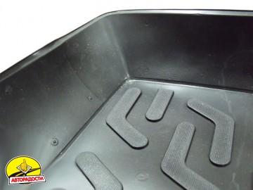 Коврик в багажник для Hyundai Getz '02-11, резино/пластиковый (Lada Locker)