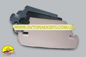 Коврик в багажник для Kia Cerato '04-09 седан, полиуретановый (Novline) черный