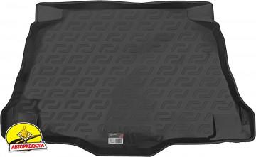 Коврик в багажник для MG 5 HB '13-, резино/пластиковый (Lada Locker)