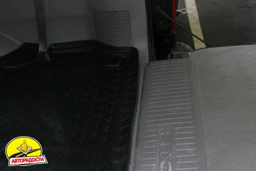 Коврик в багажник для Lexus LX 470 '00-07, полиуретановый (Novline) черный