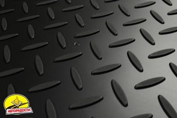 Коврик в багажник для Kia Sorento '13-15 XM (5 мест), резино/пластиковый (Norplast)