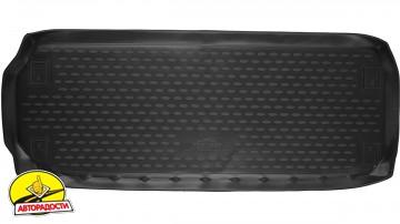 Коврик в багажник для Nissan Pathfinder '14- (короткий), полиуретановый (Novline)