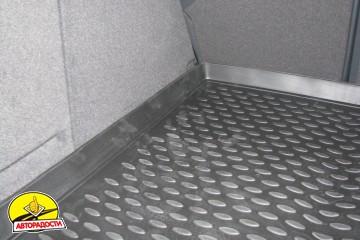 Коврик в багажник для Renault Laguna '07-15 универсал, полиуретановый (Novline / Element) черный