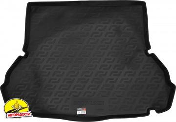 Коврик в багажник для Hyundai Elantra XD '00-06 седан, резино/пластиковый (Lada Locker)