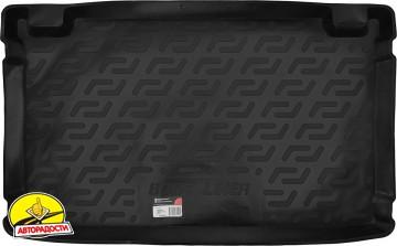 Коврик в багажник для Hyundai Getz '02-11, резиновый (Lada Locker)
